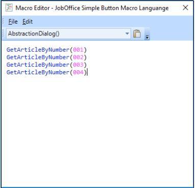 Exempel bild på GetArticle macro