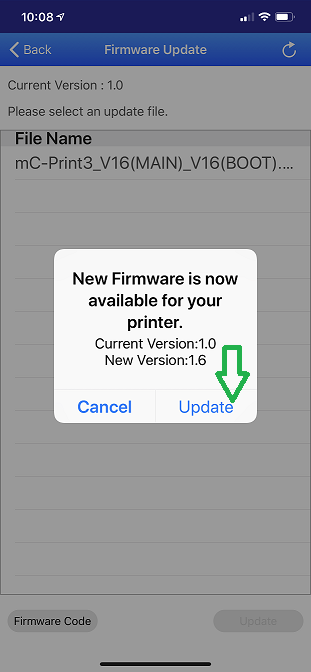 Utility new firmware